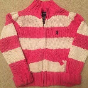 Lightly worn Toddler girl Ralph Lauren sweater